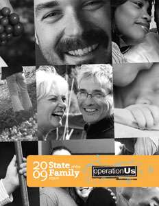 2009 State of the Family Report Cover