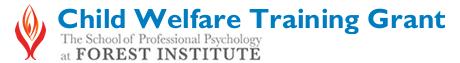 Child Welfare Training Grant Logo